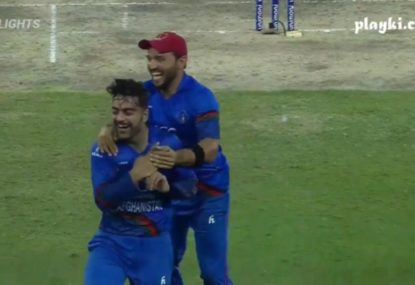 Cricketing minnows Afghanistan stun India with a last ball wicket