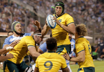 Why the Wallabies' Plan A isn't working
