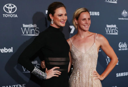 Cate Campbell shines at the Women's Health 'Women in Sport' Awards