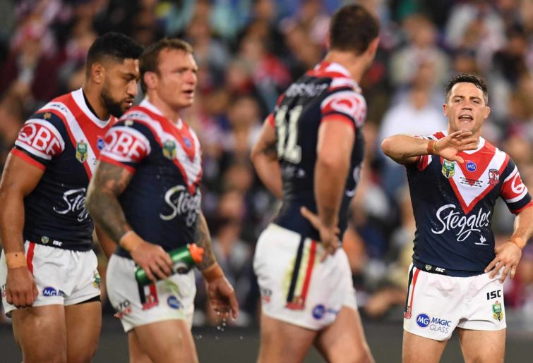 Cooper Cronk for the Roosters