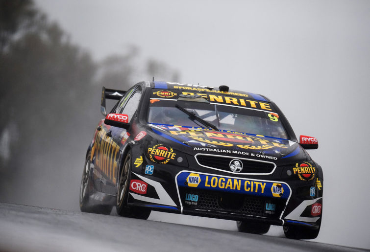 David Reynolds drives the #9 Erebus Motorsport Penrith Racing Holden Commodore VF during Bathurst 1000, which is part of the Supercars Championship at Mount Panorama on October 8, 2017 in Bathurst, Australia.