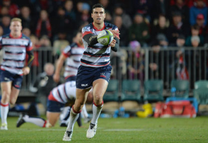 Former Rebels number ten headlines New Zealand Super Rugby squads