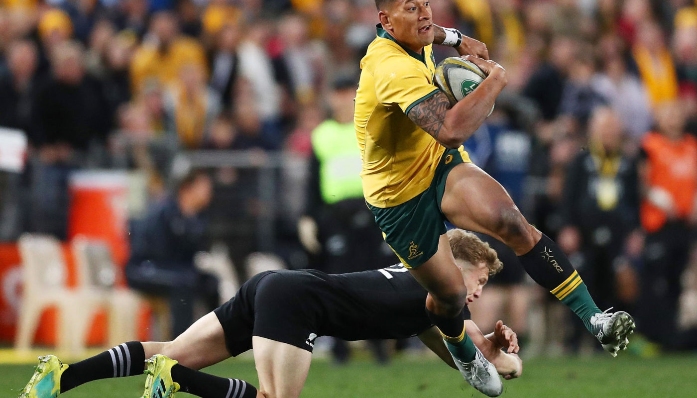 6931f691ca6 Israel Folau commits to Wallabies with new four-year deal