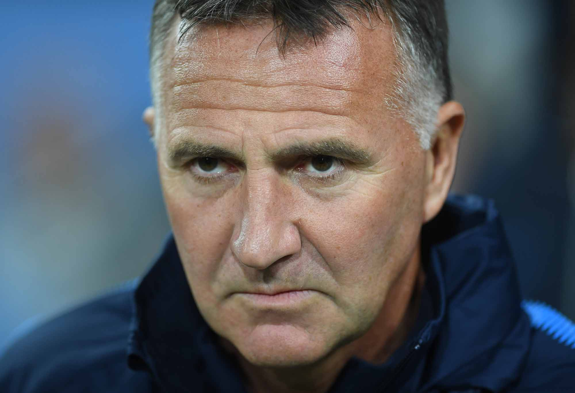 City coach Warren Joyce