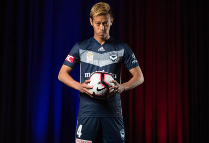 Victory dealt major blow as Keisuke Honda ruled out for a month