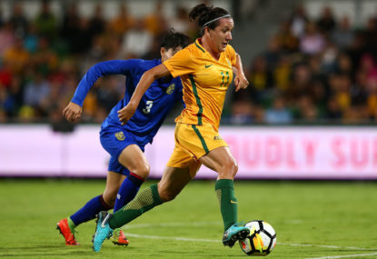 Matildas grouped with Brazil, Italy and Jamaica for world cup