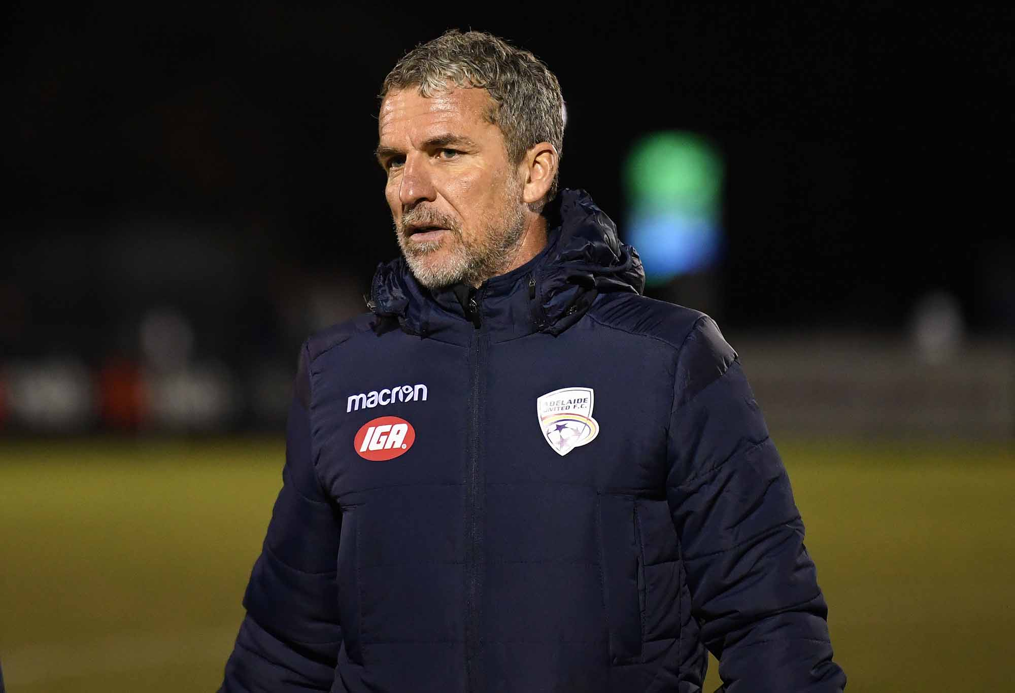 Adelaide coach Marco Kurz