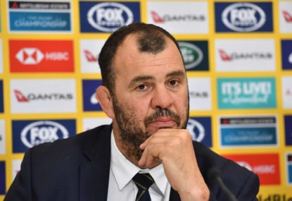 Five months later, Michael Cheika and the Wallabies finally have an attack coach