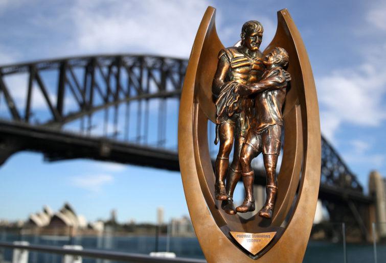 NRL Grand Final trophy generic