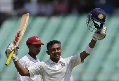 Prithvi Shaw: A new Indian superstar?