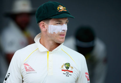 Tim Paine makes sledging great again