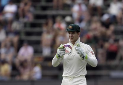 Tim Paine writes, then re-writes, his own story