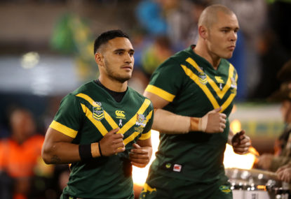 Doubling up: The elite club that Valentine Holmes endeavours to join