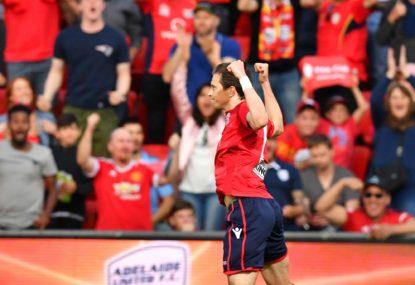 Adelaide United vs Perth Glory: A-League live scores, blog
