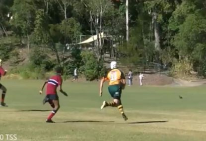 Rugby prodigy goes on a try-scoring rampage