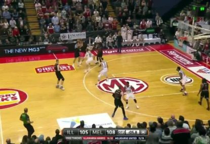 Ridiculous scenes as NBL match pushed into quadruple overtime
