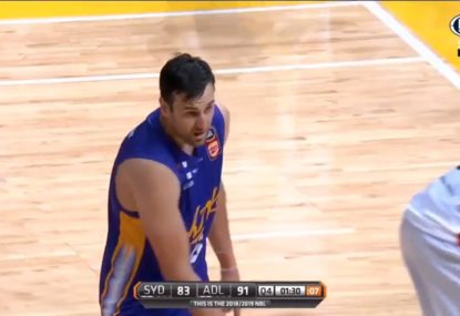 Bogut fouls out of NBL debut