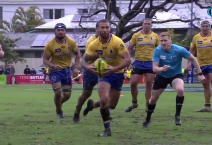 Quade Cooper shows off his footy smarts and catches Canberra napping