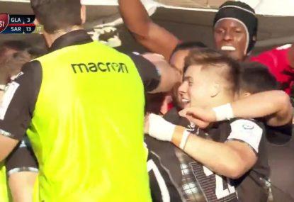 England International Maro Itoje expertly trolls Glasgow's 'try' celebration fail