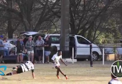 Possibly the greatest try of the year!