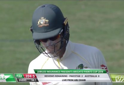 Aussies slammed by commentators after wasting final review