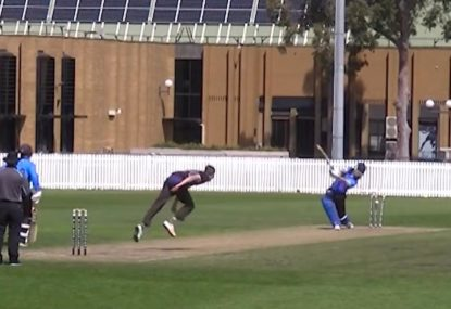 Bowler obliterates off stump with punishing delivery!