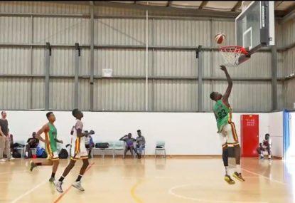 Prodigious man mountain is Australian basketball's next big star