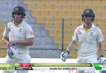HIGHLIGHTS: Pakistan set bruised Australians 538 to chase