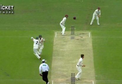 Batsmen collide causing Jake Doran's demise