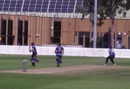 Batsman pays the ultimate price for poorly judged single