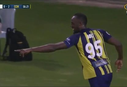 Ange Postecoglou doubts Bolt's football career prospects