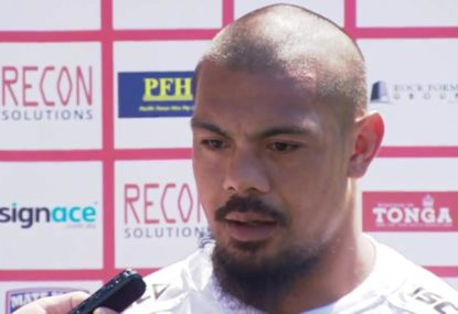 Tonga captain on how his side can beat the Kangaroos