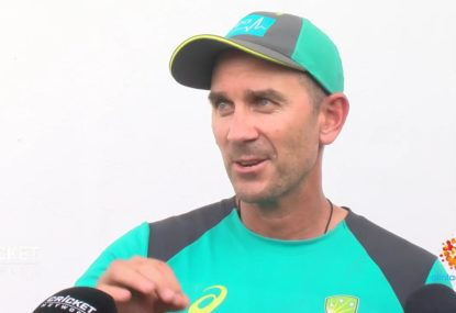 'They're really good young men and they're good cricketers': Langer on Marsh brothers