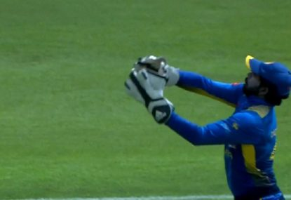 Sri Lankan keeper's nightmare start