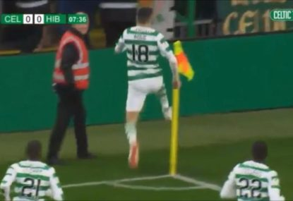 Tom Rogic does it again for Celtic with another brilliant goal