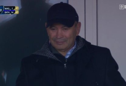 Eddie Jones cops boos at Champions Cup match in England