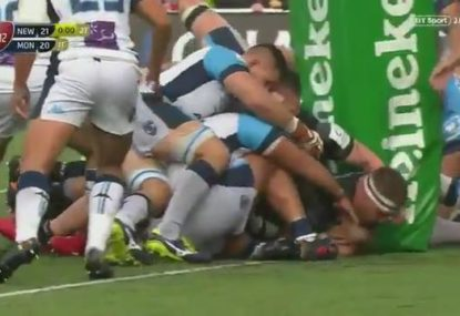 Newcastle Falcons' miracle last-gasp try in European Champions Cup