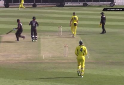 UAE's hilariously shambolic run out sums up why they don't play Tests yet