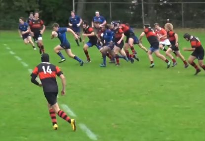 Suspect short ball sets up an otherwise brilliant team try