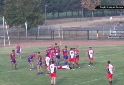 Spanish rugby league player revived on field after collapsing and swallowing his tongue