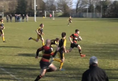 Perfect cross over sets up long range meat pie