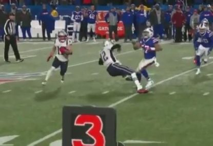 Tom Brady goes from quarterback to 'speed bump'