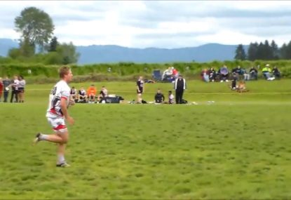 Flyhalf's cheeky grubber sets up a dazzling solo try