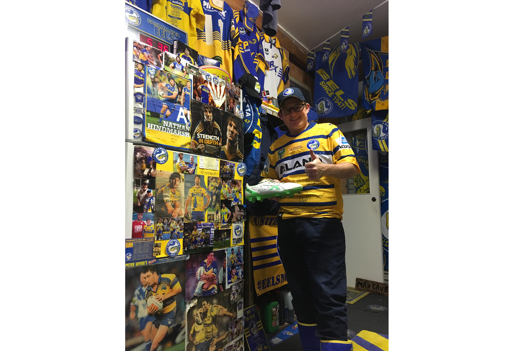 Parramatta tragic Troy Worner is as passionate as they come.