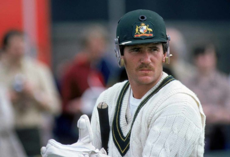Allan Border batting