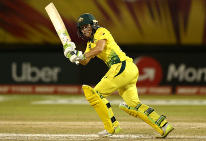 Healy concussed in Aussie women's T20 loss