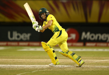 Healy relishes scrutiny ahead of T20 World Cup