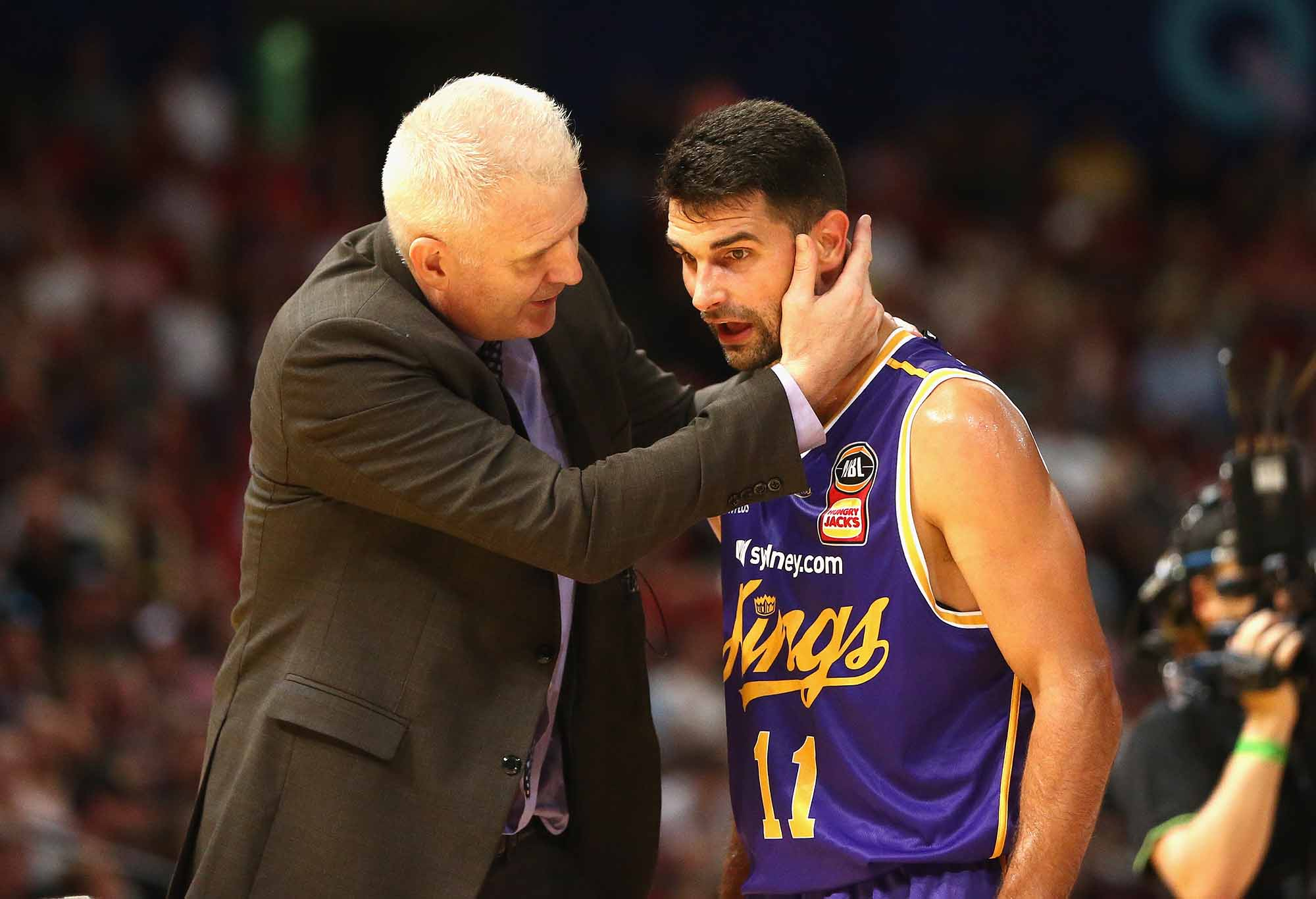 Kevin Lisch chats to Andrew Gaze
