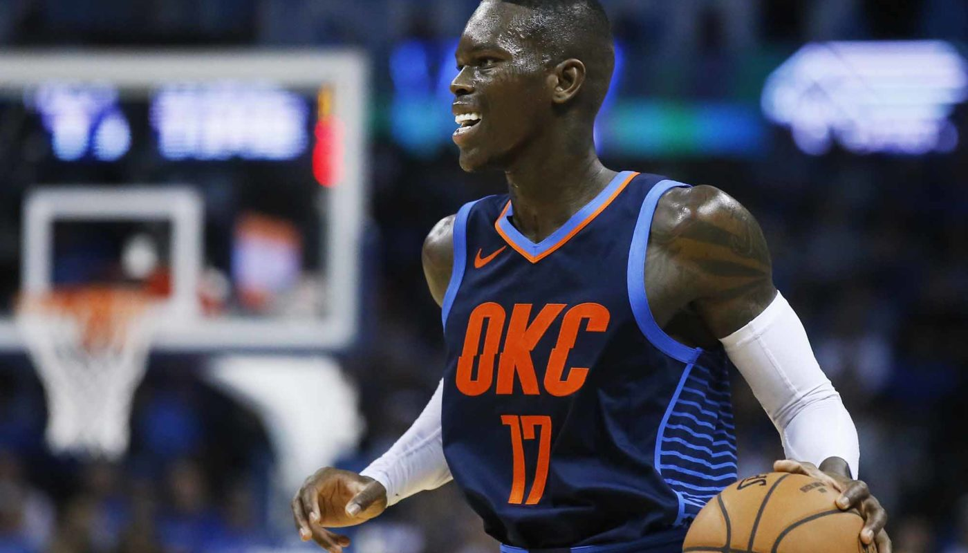 dennis schroder oklahoma city thunder s most important addition