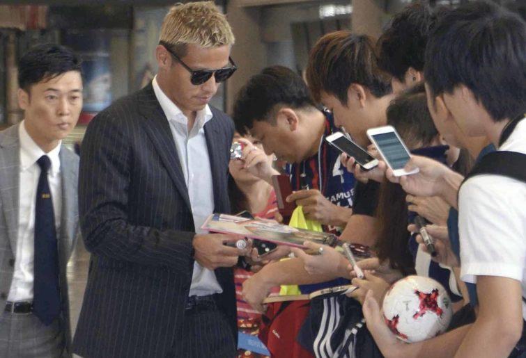 Keisuke Honda. Superstar
